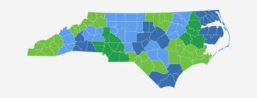 North Carolina State Map by North Carolina Regional Councils State Map Ncrcog
