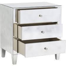 Laminate Floor Ikea Nightstand Appealing Mesmerizing Mirror Mirrored Nightstand