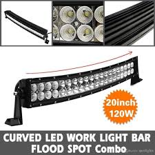 20 Led Light Bar by 20 Inch Curved Off Road Led Light Bar Cree 120w Bar Atv Car Suv