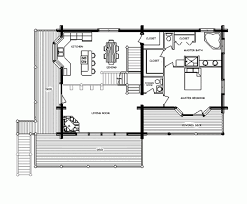 Large Cabin Floor Plans Impressive Cabin Floor Plans Small Loft Using Staircase Step