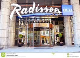 radisson blu hotel kyiv podil kyiv ukraine editorial photography