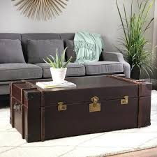 Trunk Style Coffee Table Coffee Tables Trunk Artedu Info