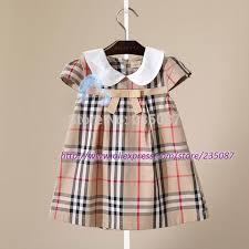 dress pattern 5 year old retail 1 5 years old girls lattice dress children clothes kids