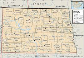 County Map Of Missouri State And County Maps Of North Dakota