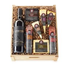 best wine gift baskets hickory farms reserve all the cellar s best crate hickory farms