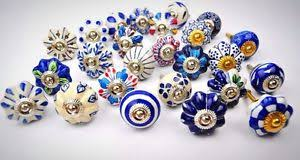 painted ceramic cabinet knobs cabinet knobs set 25 blue white hand painted ceramic bohemian drawer