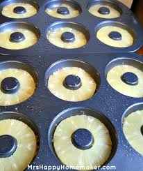 pineapple upside down cake donuts u2013 mrs happy homemaker