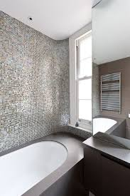charming glass mosaic tiles design ideas for adorable bathroom