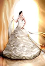 katniss everdeen wedding dress costume thehungergames this is my drawing of katniss everdeen with