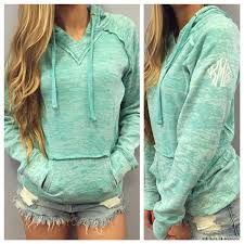 plain light blue hoodie 2016 fashion design hoodie hooded long sleeve pocket for women