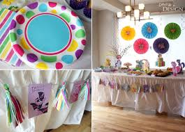 My Little Pony Party Centerpieces by Keira U0027s My Little Pony 4th Birthday Party