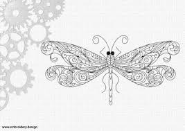insects embroidery design files for