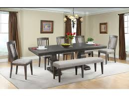Kathy Ireland Dining Room Set Elements Dining Room Morrison Dining Table 4 Chairs Bench Server
