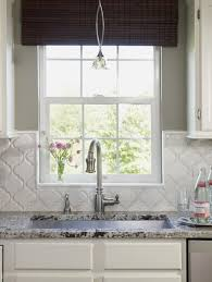 kitchen backsplash tile how high to go gray kitchens moroccan