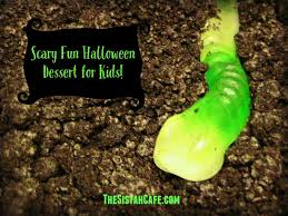 scary fun halloween dessert for kids