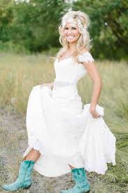 wedding dresses to wear with cowboy boots 23 best country bridesmaid dresses images on brides