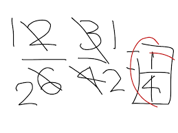 showme canceling before multiplying fractions