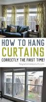 hanging curtains doesn u0027t have to be a pain learn how to hang