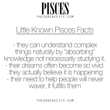 known facts about pisces for more information on the