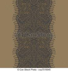 gold lace ribbon gold lace ribbon seamless gold lace with paisley pattern clipart