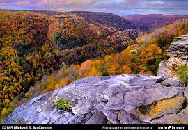 fall foliage scarring west virginia mountains picture blackwater