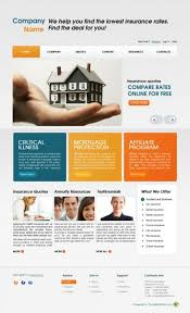 free home insurance business web template templates perfect
