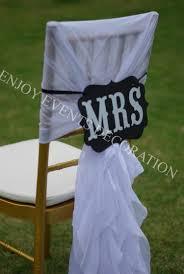 Cheap Chiavari Chairs 100pcs Yhc 61 Chiffon Chair Hoods Polyester Banquet Wedding