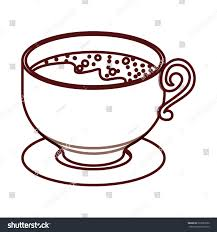 isolated coffee cup design stock vector 523093960 shutterstock
