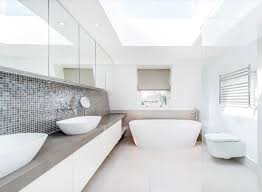 bright bathroom interior with clean cool sleek bathroom remodeling ideas you need now freshome