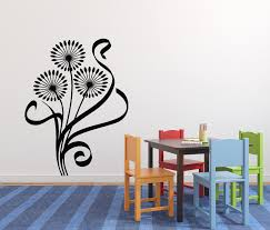 zombies wall safe movable wall sticker 181404641816 10 99 wall sticker vinyl decol dandelion good spirit of the earth spring n021