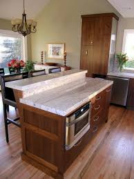 two tier kitchen island two tier granite topped island with edge detail