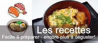 recette cuisine japonaise facile satsuki épicerie japonaise en ligne satsuki epicerie japonaise