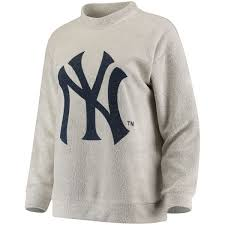 pullover sweater s york yankees big logo crew neck pullover sweater