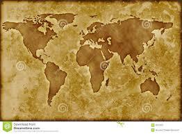 Old World Map Old Worldmap Royalty Free Stock Photo Image 8370075