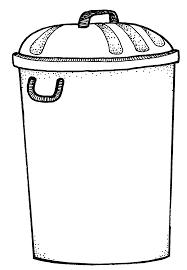 White Bathroom Trash Can by Bathroom Trash Can Clipart Clip Art Of Trash Can Clipart 5335