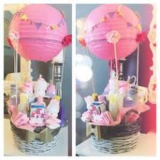 air balloon baby shower gift basket my diy