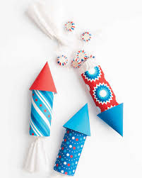 patriotic red white and blue crafts and party decorations