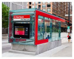 Cta Map Red Line Cta Red Line Harrison Street Station Entrance Small Project