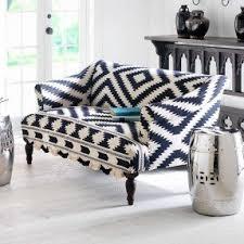Black Fabric Sofa Print Fabric Sofas Foter