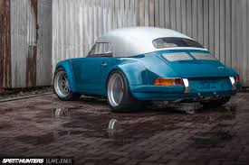 porsche indonesia rauh welt redefined the terror garage rwb speedster speedhunters