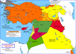 Middle East Countries Map by Historical Maps Of The Middle East