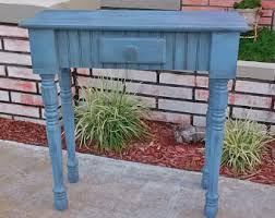 Small Entry Table Skinny Entry Table Etsy