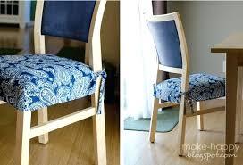Dining Room Chair Pads Dining Chair Cushions With Ties Raincitygardens