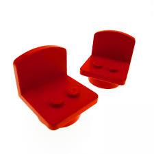 Wohnzimmer Rot Orange 2 X Lego System Möbel Stuhl Fabuland Rot Stühle Sitz Sessel Küche