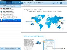 using printeron to print from cloud storage applications printeron