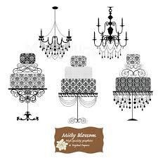 Free Chandelier Clip Art Cake Clipart Damask Pencil And In Color Cake Clipart Damask
