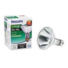 philips 419564 halogen par30l 75 watt equivalent 10 degree spot