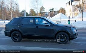 bentley bentayga 2015 mlb based bentley bentayga suv spied fourtitude com