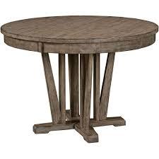 round pedestal dining table carolina rustica