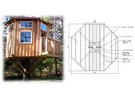 tree house blueprints interior design